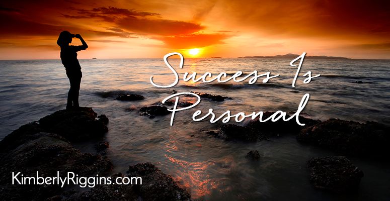 Success Is Personal